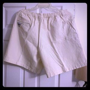 Men's Columbia shorts white XL